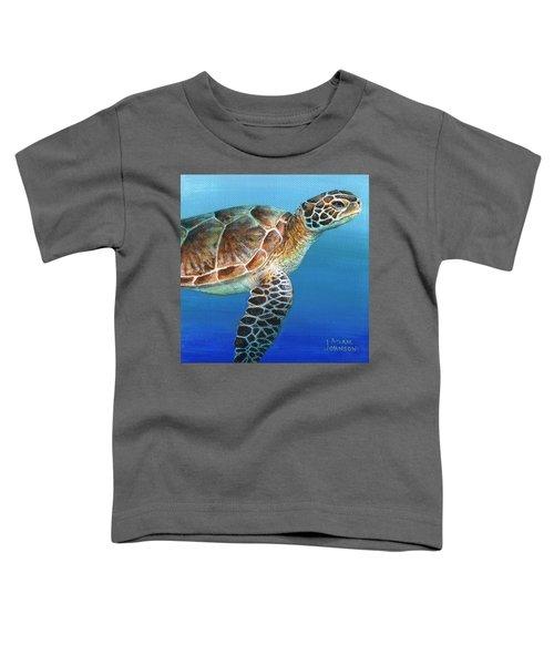 Sea Turtle 2 Of 3 Toddler T-Shirt