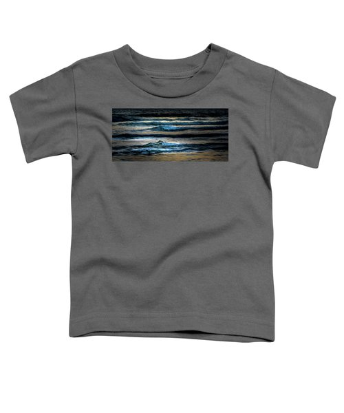 Sea Waves After Sunset Toddler T-Shirt