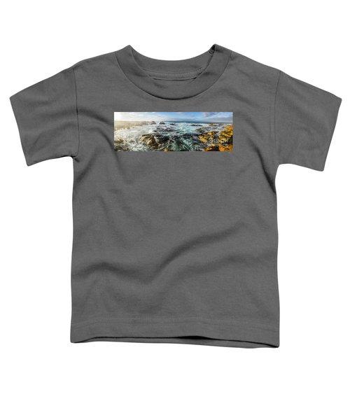 Seas Of The Wild West Coast Of Tasmania Toddler T-Shirt
