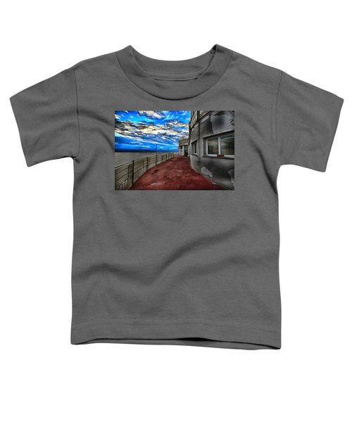 Seascape Atmosphere - Atmosfera Di Mare Dig Paint Version Toddler T-Shirt