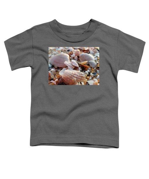 Seashells And Pebbles Toddler T-Shirt
