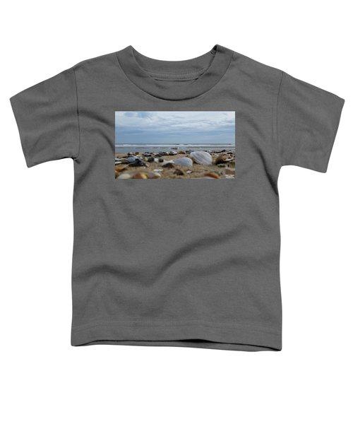 Seashells Seagull Seashore Toddler T-Shirt