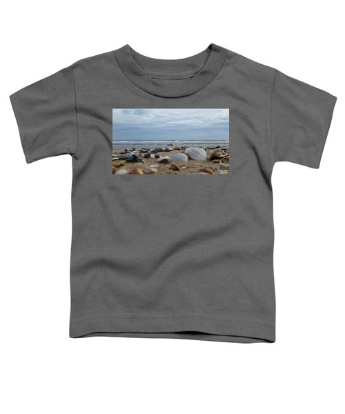 Seashells Seagull Seashore Toddler T-Shirt