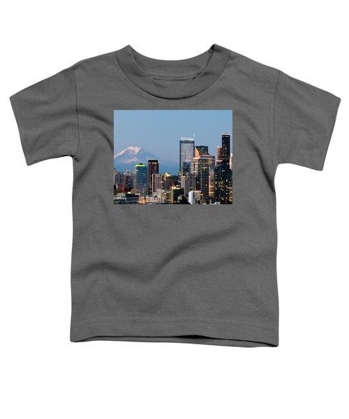 Seattle At First Light II Toddler T-Shirt