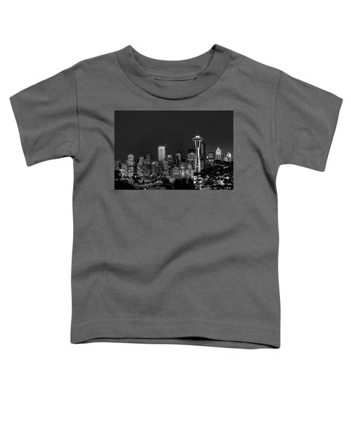 Seattle Skyline Toddler T-Shirt