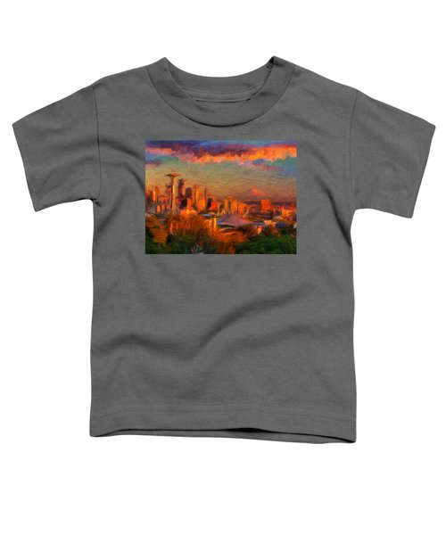 Seattle Sunset 1 Toddler T-Shirt