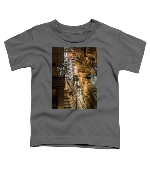 Seattle's 6th And Pine Toddler T-Shirt