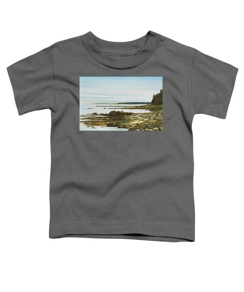 Seawall Mt. Desert Island Toddler T-Shirt