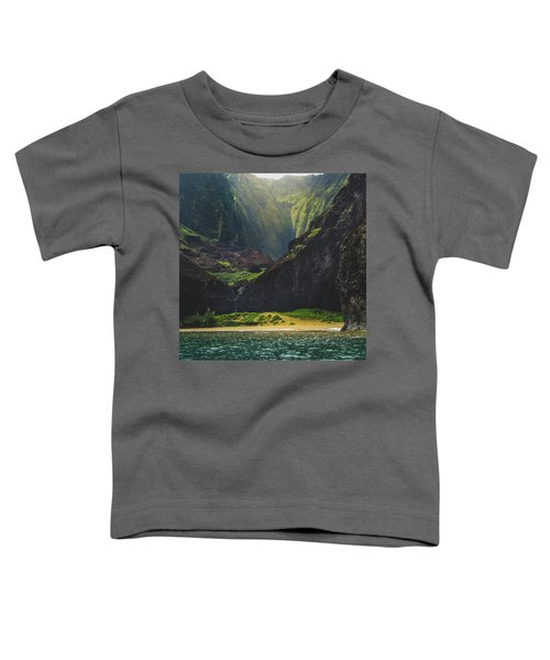 Secluded Kalalau Beach Toddler T-Shirt