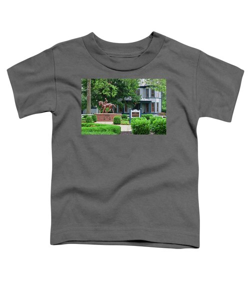 Secretariat Statue At The Kentucky Horse Park Toddler T-Shirt