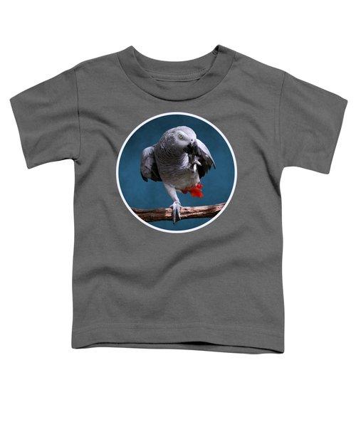 Secretive Gray Parrot Toddler T-Shirt