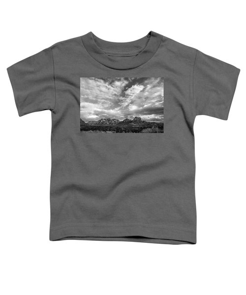 Sedona Red Rock Country Bnw Arizona Landscape 0986 Toddler T-Shirt by David Haskett