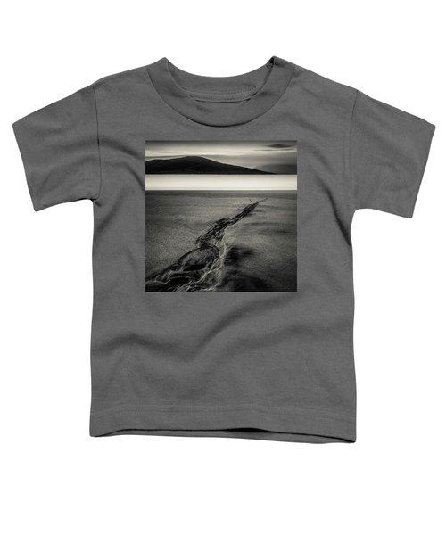 Seilebost Sand Tracks Toddler T-Shirt