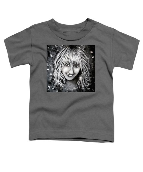 Self Portrait #1 Toddler T-Shirt by Teresa Wing