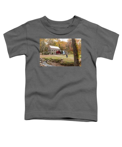 Selfie In Autumn Toddler T-Shirt