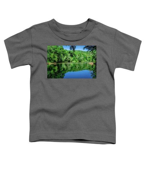 Semi Placid Stream Toddler T-Shirt