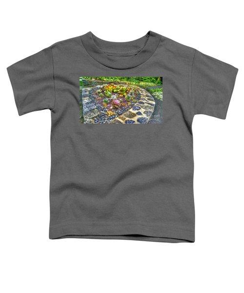 Sensory Garden At Laurelwood Arboretum Toddler T-Shirt