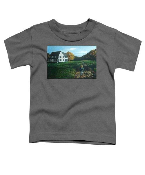September Breeze Number 4 Toddler T-Shirt