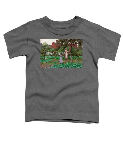 September Toddler T-Shirt by Edmund Blair Leighton