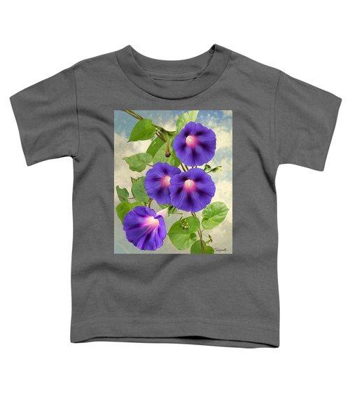 September Morning Glory Toddler T-Shirt