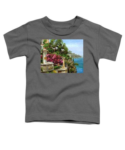 Serene Sorrento Toddler T-Shirt