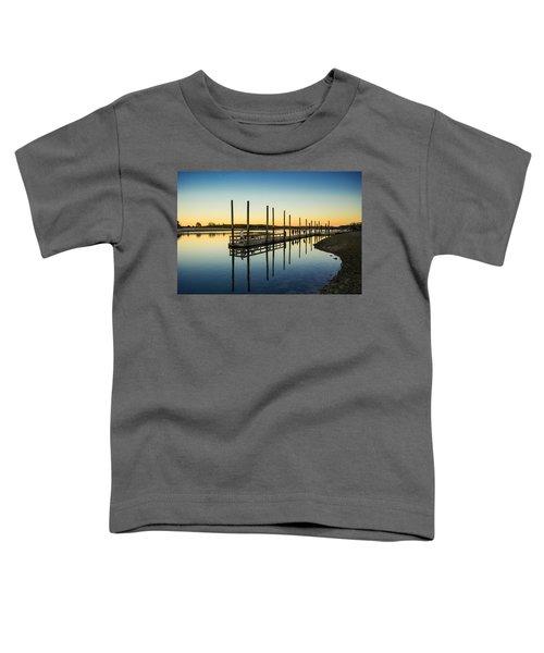 Serenity Sunset Kings Park New York Toddler T-Shirt