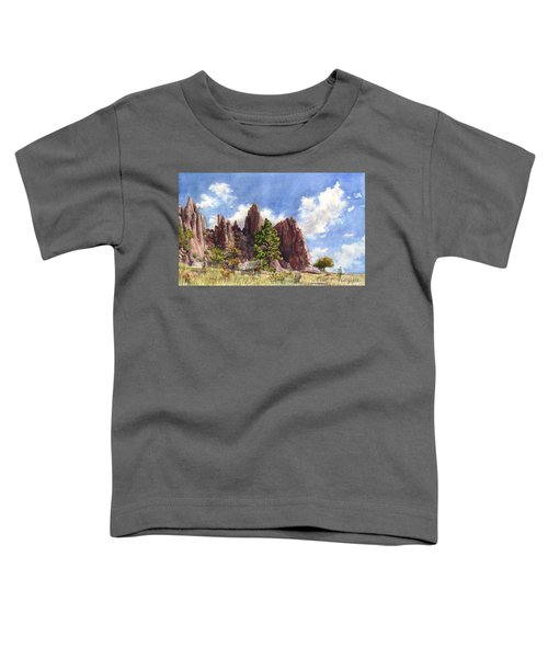 Settler's Park, Boulder, Colorado Toddler T-Shirt