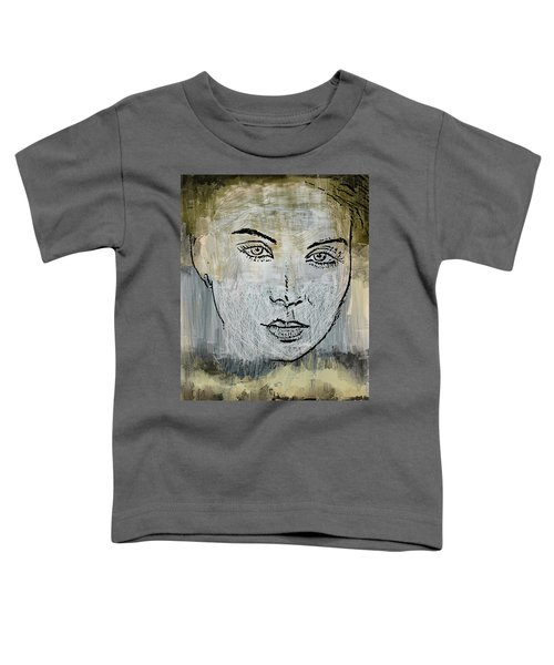 Shades Of Grey And Beige Toddler T-Shirt