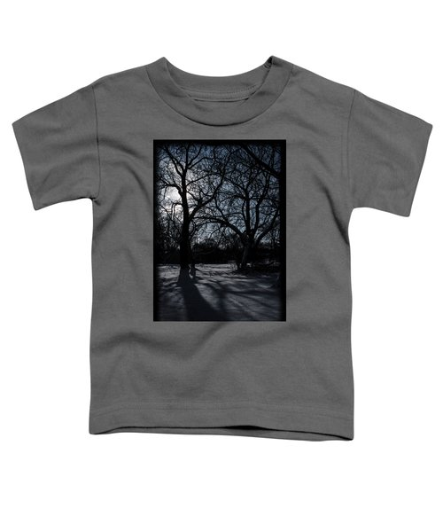 Shadows In January Snow Toddler T-Shirt