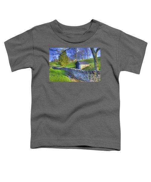 Shaker Stone Wall 6 Toddler T-Shirt