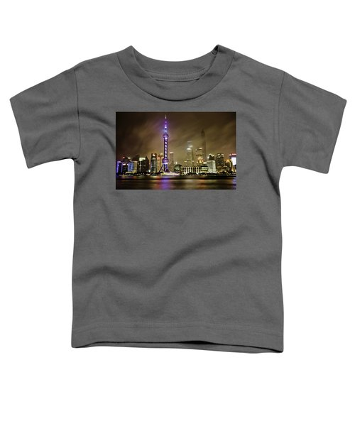 Shanghai Skyline Toddler T-Shirt