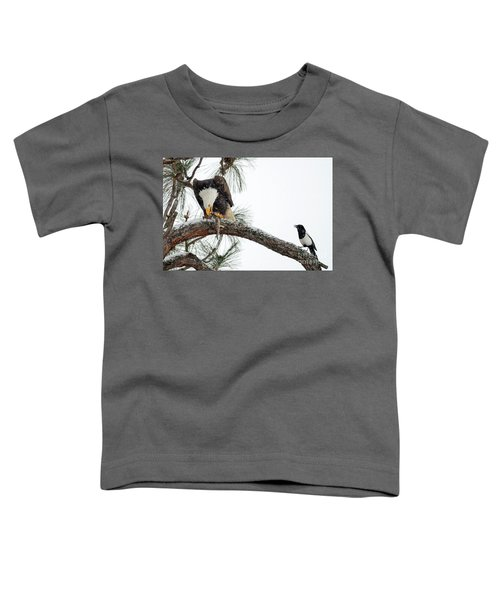 Share The Wealth Toddler T-Shirt by Mike Dawson