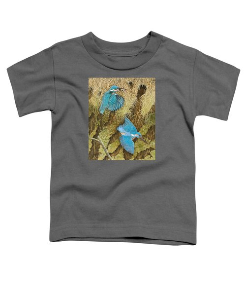 Sharing The Caring Toddler T-Shirt by Pat Scott