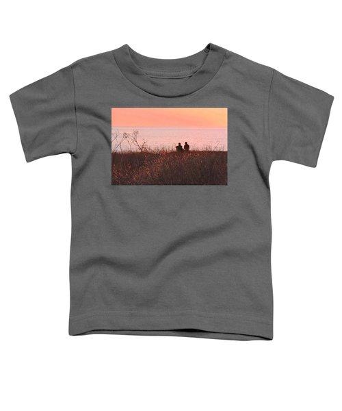 Sharing Tranquility Toddler T-Shirt
