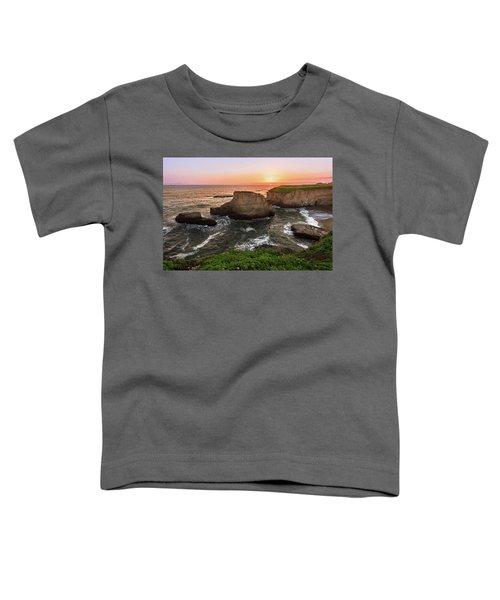 Shark Fin Cove Sunset Toddler T-Shirt