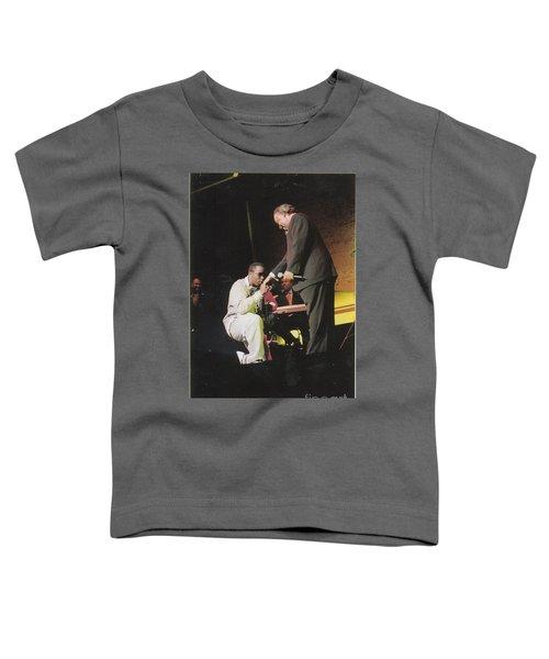 Sharpton 50th Birthday Toddler T-Shirt by Azim Thomas