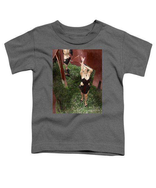 Shattered Reflection Toddler T-Shirt