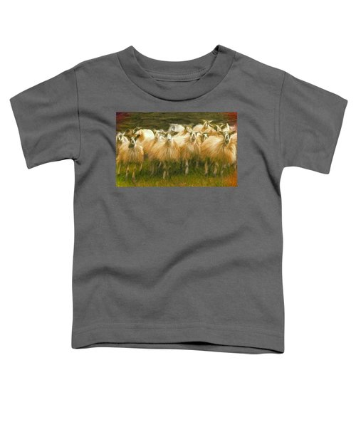 Sheep At Hadrian's Wall Toddler T-Shirt