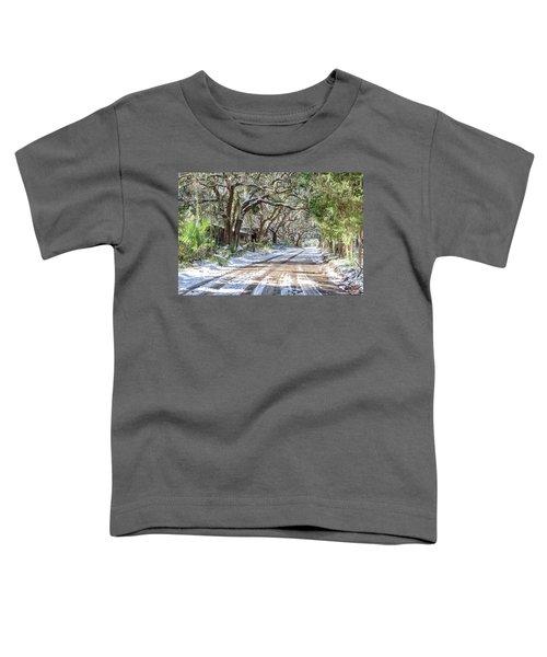 Sheep Farm - Snow Toddler T-Shirt