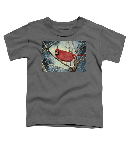 Shelly's Cardinal Toddler T-Shirt