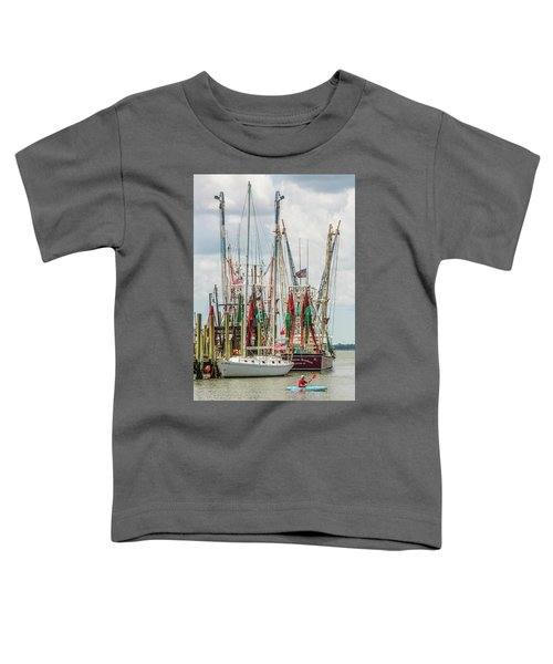 Shem Creek Sunday Toddler T-Shirt