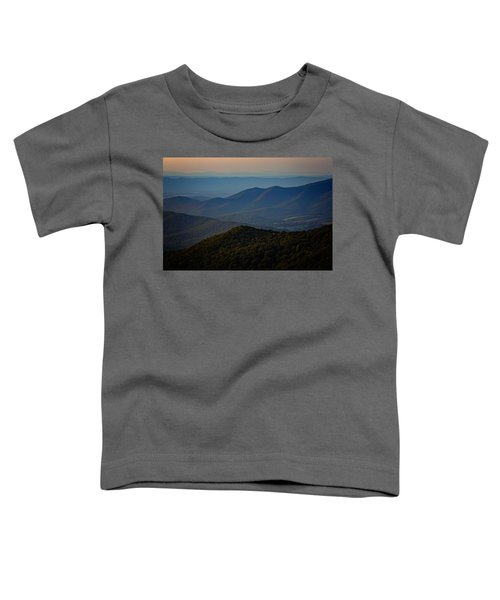 Shenandoah Valley At Sunset Toddler T-Shirt