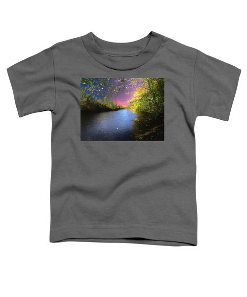 Shetucket River Ct. Toddler T-Shirt