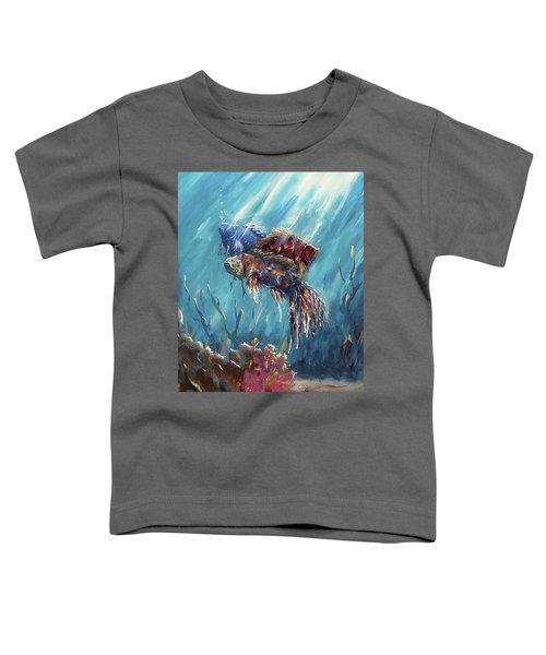 Shine Trough The Ocean Toddler T-Shirt