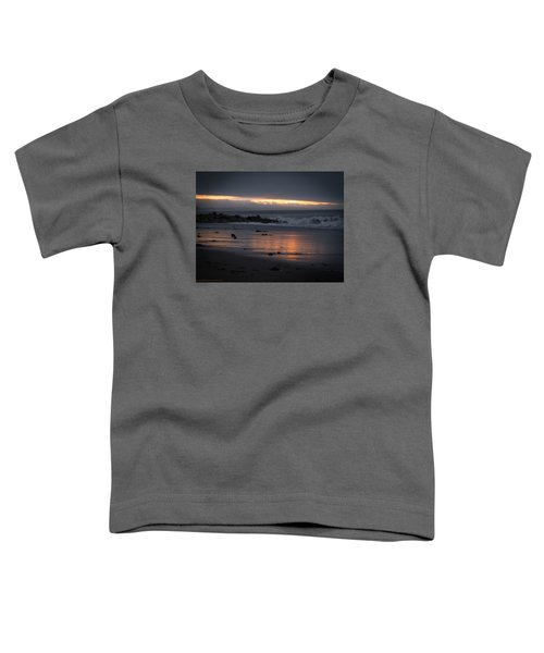 Toddler T-Shirt featuring the photograph Shining Sand by Lora Lee Chapman