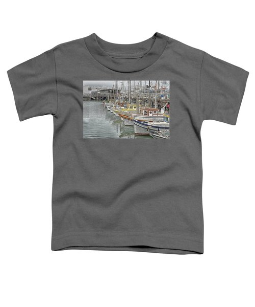 Ships In The Harbor Toddler T-Shirt