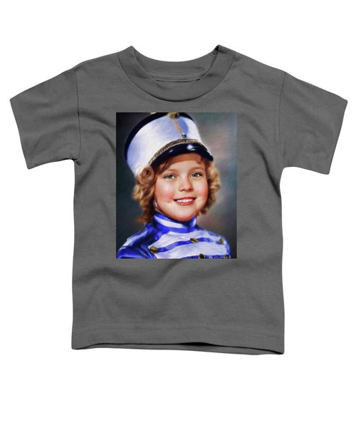 Shirley Temple, Vintage Actress Toddler T-Shirt