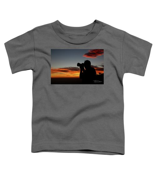 Shoot The Burning Sky Toddler T-Shirt