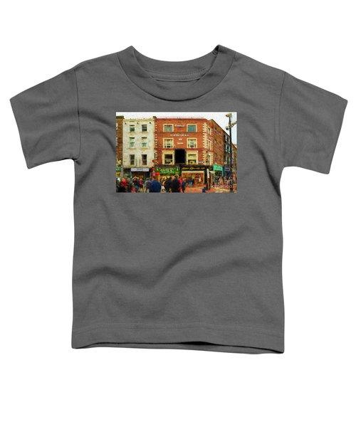 shopping on Grafton Street in Dublin Toddler T-Shirt
