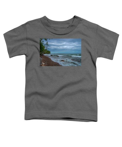 Shoreline Clouds Toddler T-Shirt